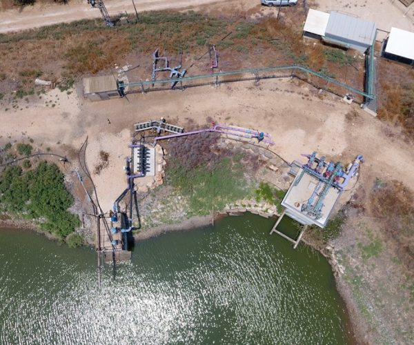 מכון אגם מולדת 1 - הולכת מים