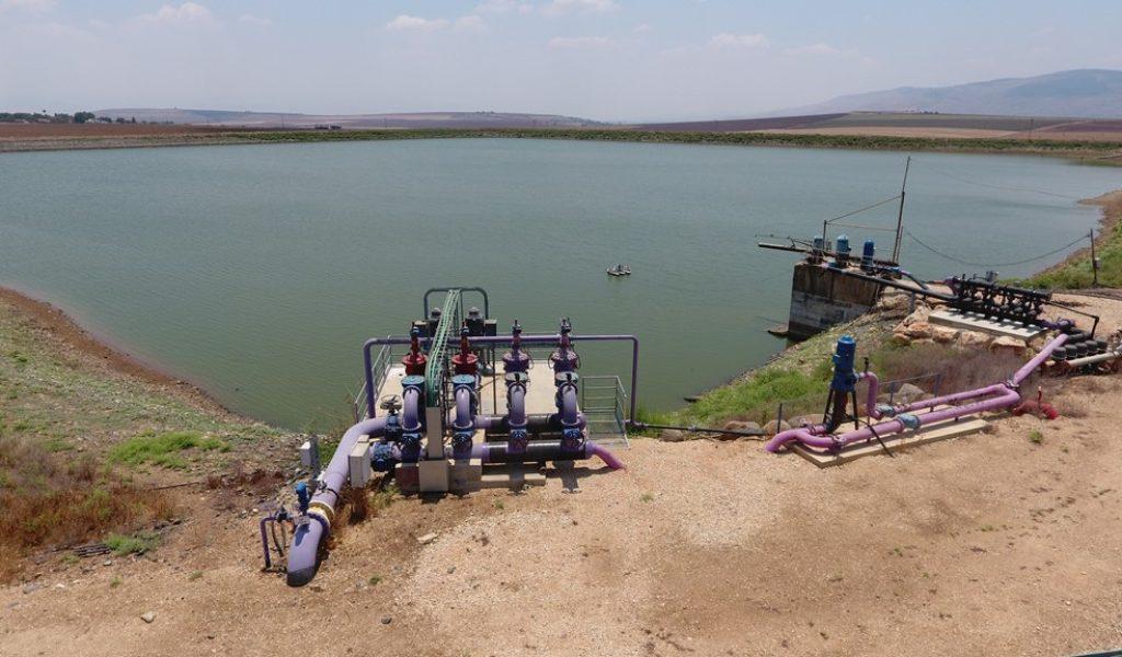אגם מולדת1 - הולכת מים