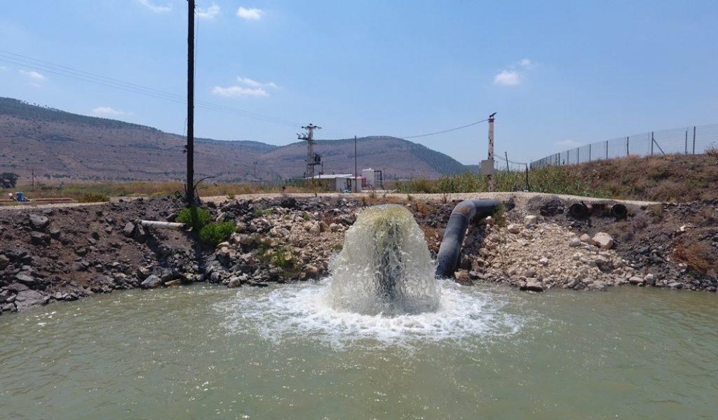 בריכת מיעול - הולכת מים