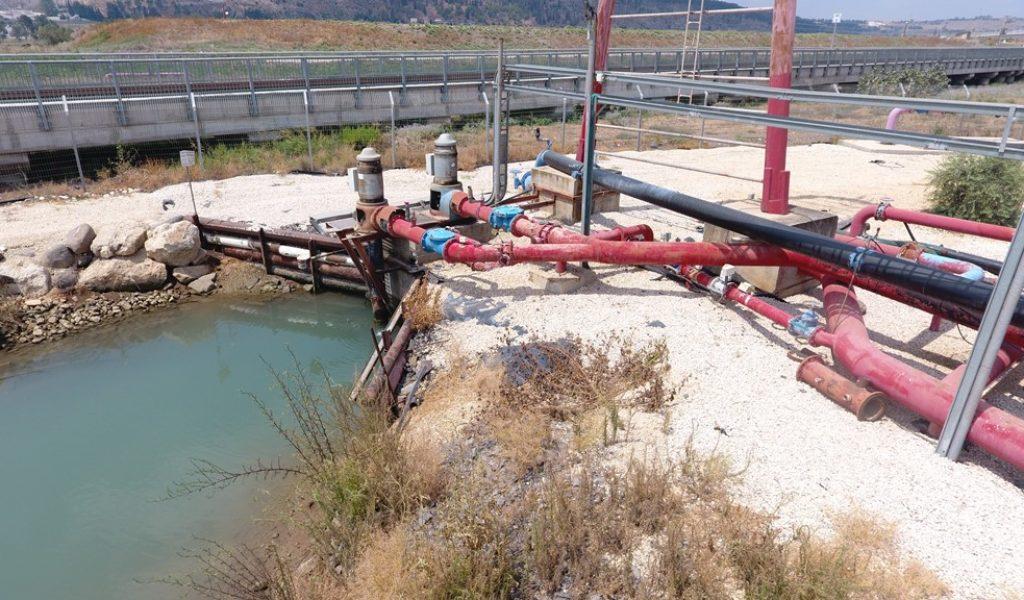 מכון שיזף - הולכת מים